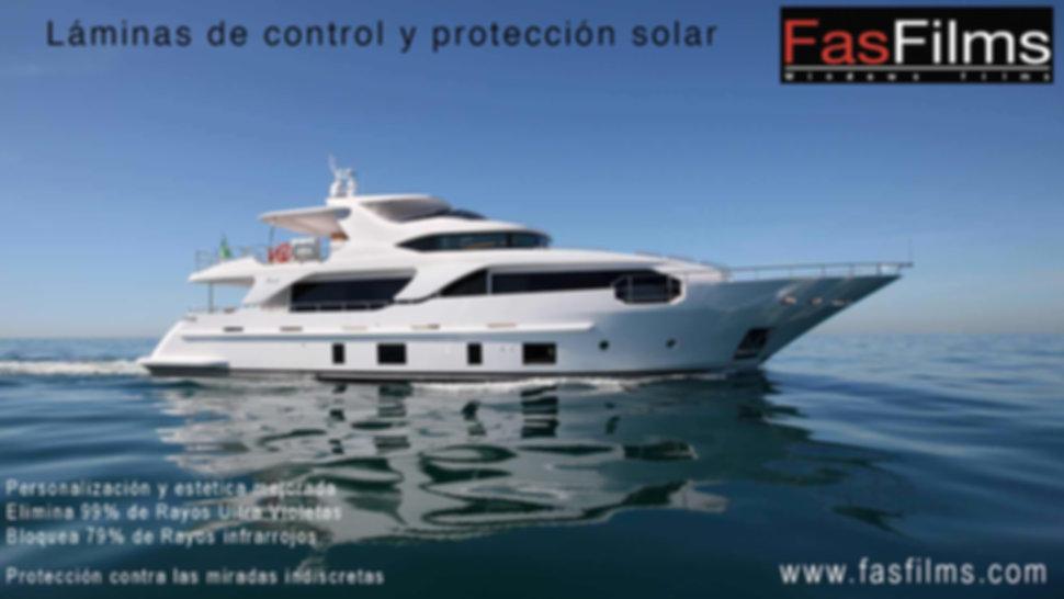 Láminas solares barcos