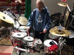 Upstairs Music Workshop Room, Teds Percu