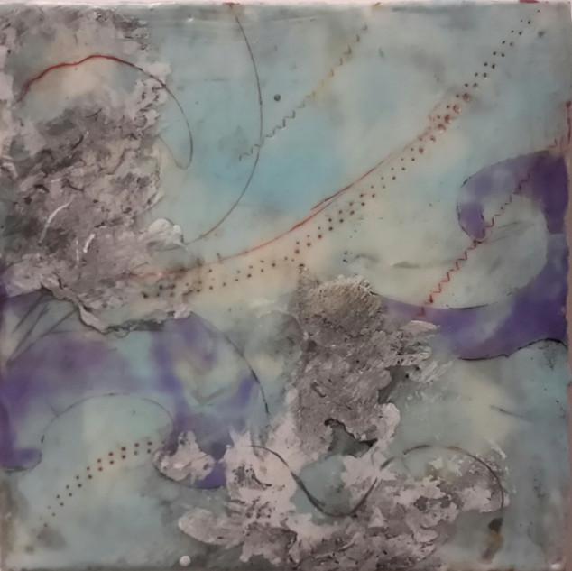 BOBURKA Natalie Sky Map 8 x 8 inches 2.j