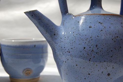 Two cup teapot and tea cup gift set