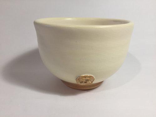 Bowls in an icing sugar glaze
