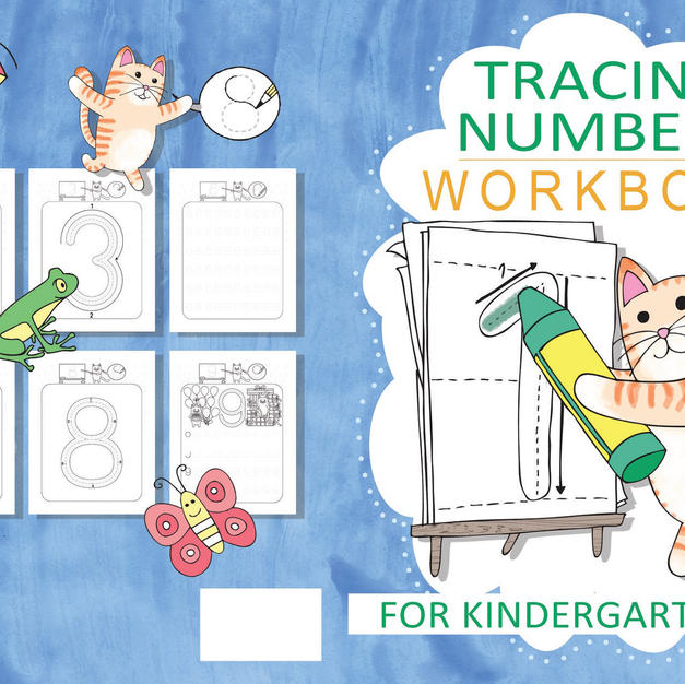 Tracing Numbers Workbook