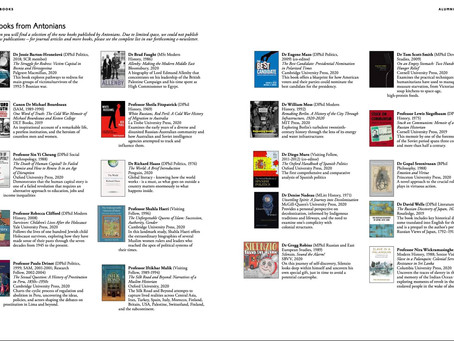 Look who made it into Oxford Alumni's book list...
