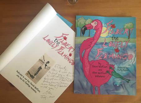 Signed Flamingo!