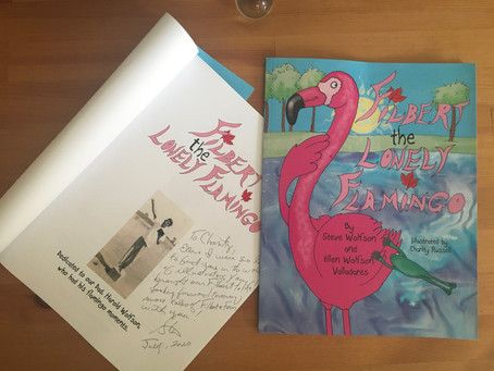 Signed Flamingo!