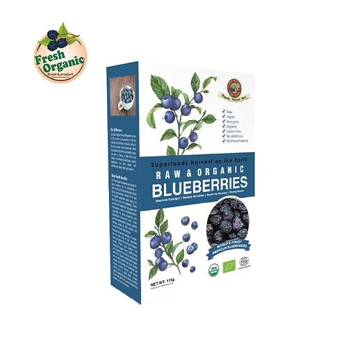 鮮機 Fresh Organic 有機生機藍莓乾 115g
