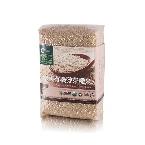 綠盈坊 有機發芽糙米 1kg