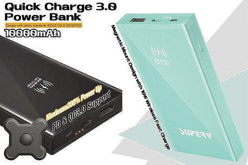 Superv SB700 無線磁吸快速充電器 10000mAh QC3.0+PD