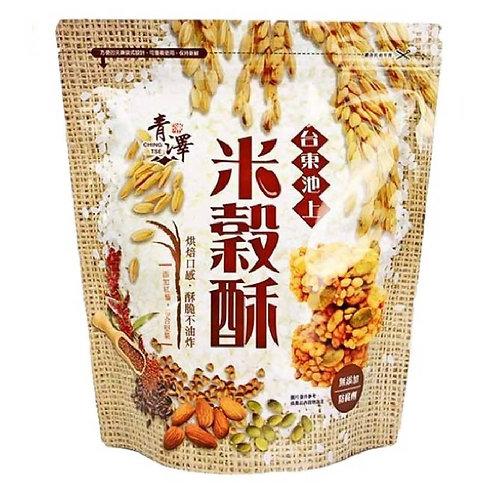 青澤池上米穀酥 (雞汁) 160g (獨立小包裝)