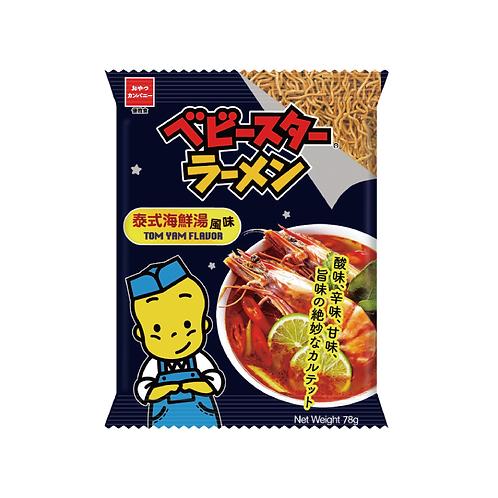 OYATSU 即食點心餅麵線 (泰式海鮮湯風味)