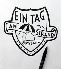 Logo Ein Tag Am Strand Skid Rock