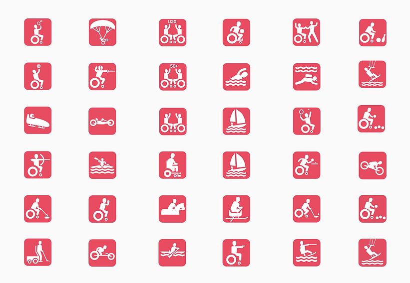 Icons Rollstuhlsport SPZ Nottwil
