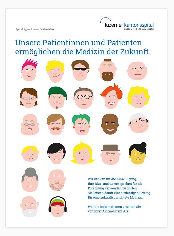 Plakat Luzenr Kantonsspital