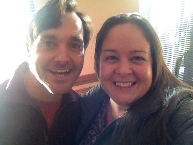 Shooting with Will Forte!