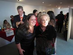 Just hanging with Doris Roberts!