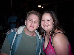 Me and Michael Rapaport