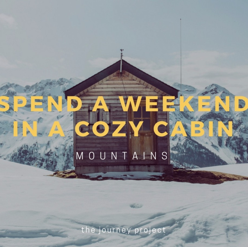 Get Cozy in the Mountains