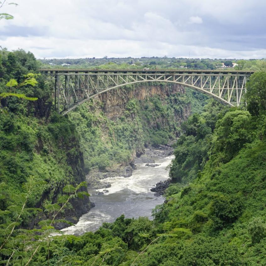 Bridge at Victoria Falls, Zambia