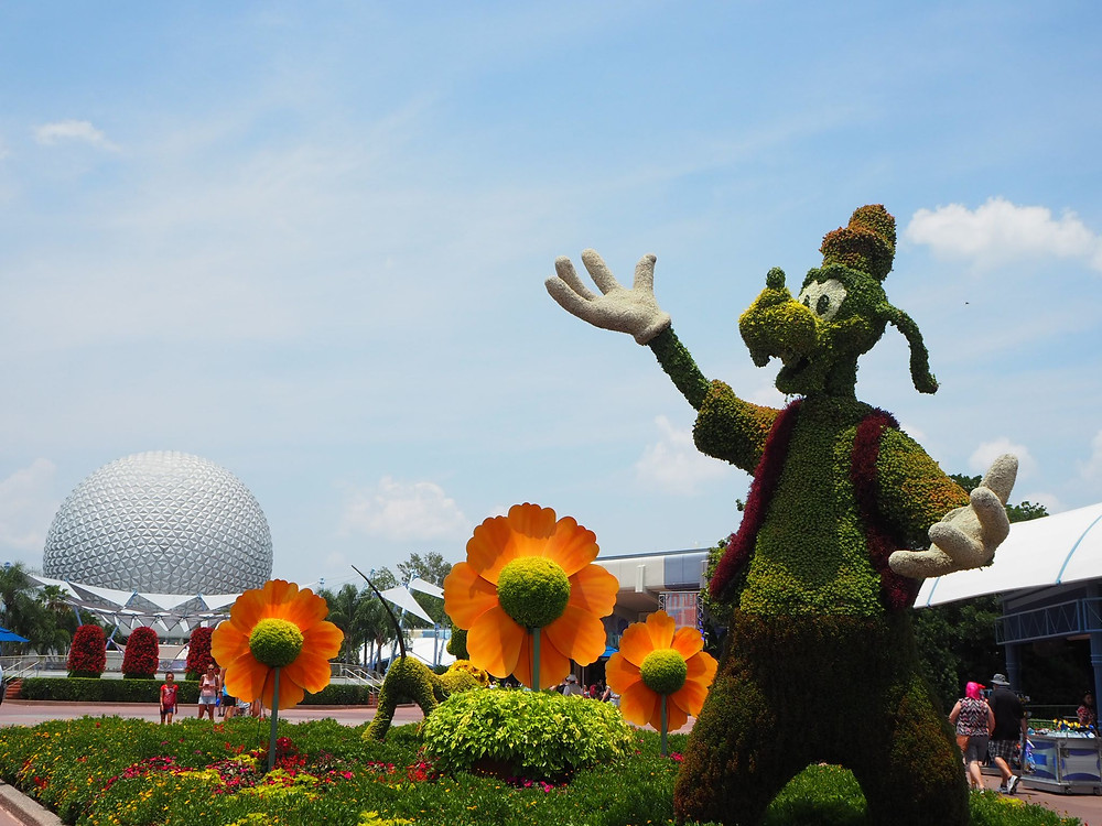 Goofy Epcot Flower and Garden Festival Disney World