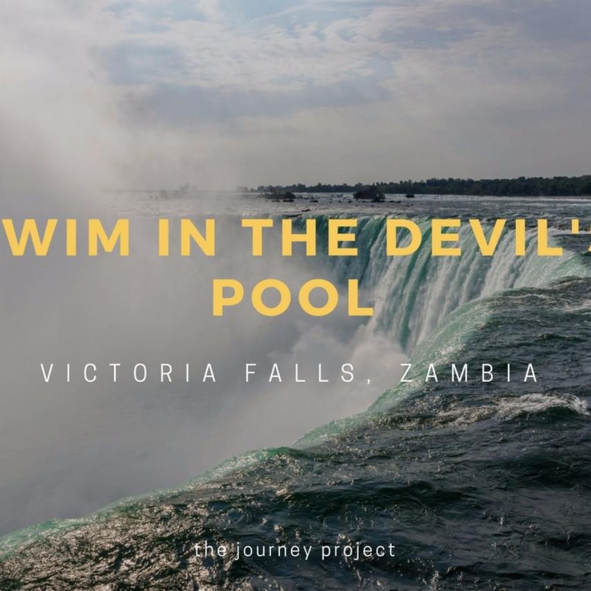 Swim in the Devils Pool