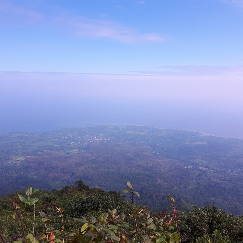 Hiking Concepción, Ometepe Island