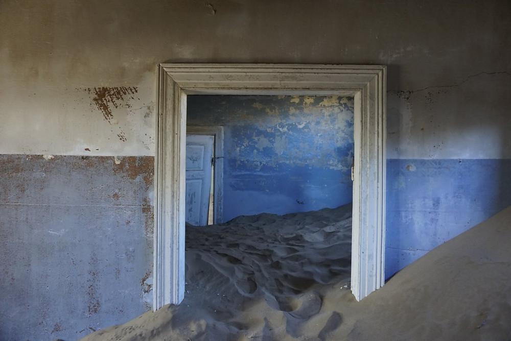 Kolmanskop diamond mining ghost town, Namibia
