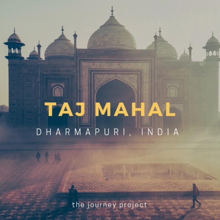 See the Taj Mahal