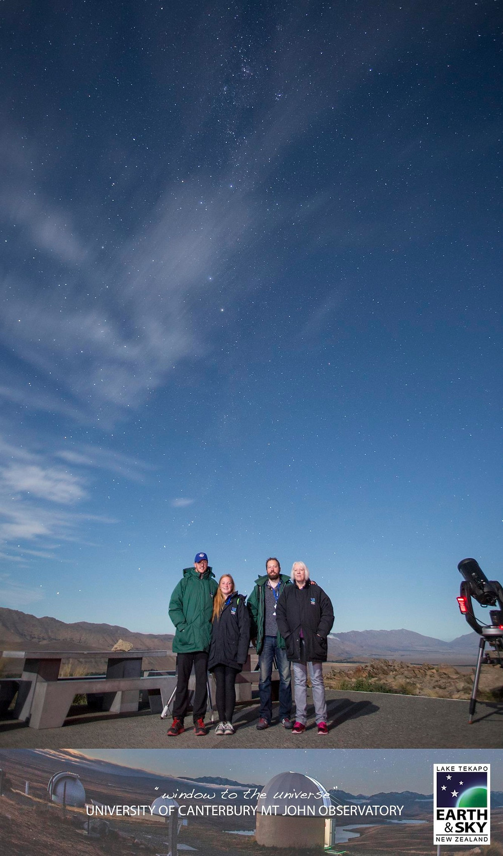 Stars at the dark sky reserve in Tekapo