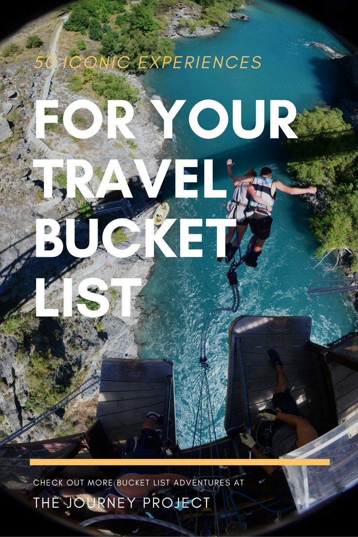 50 Iconic Experiences for Your Travel Bucket List | As travellers, we know it isn't always about what you do, but where you do it that is important. Check out the most iconic bucket list experiences here!