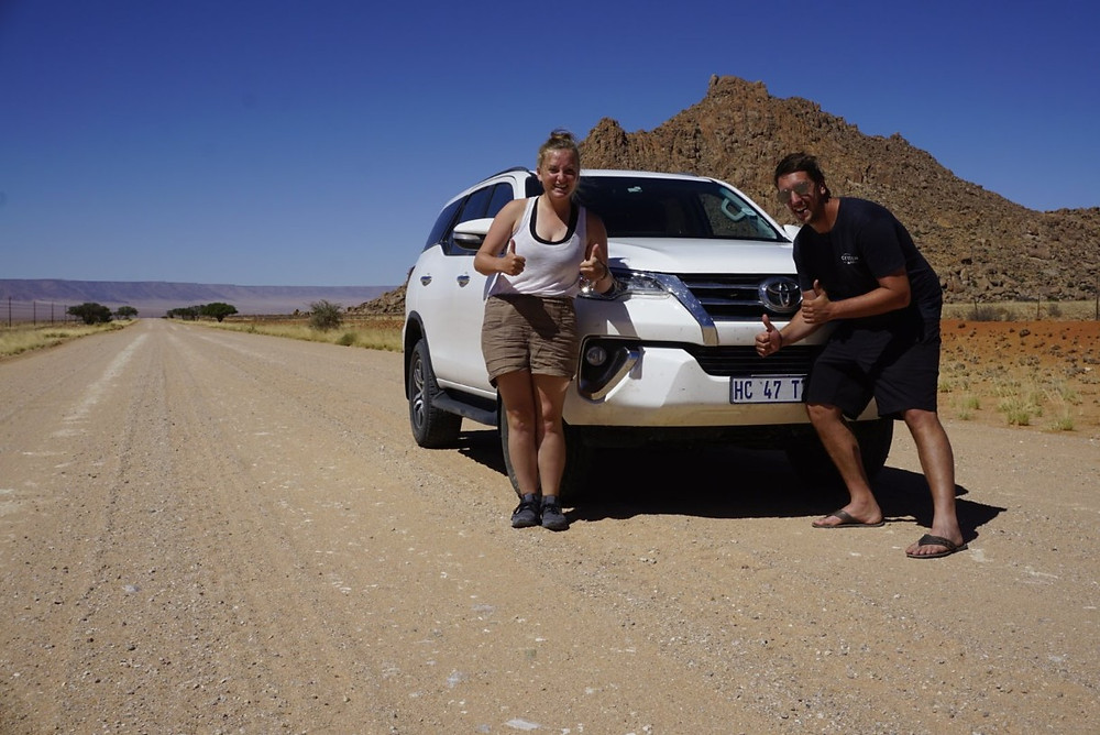 Missy and Lucas with upgraded Toyota Fortuner