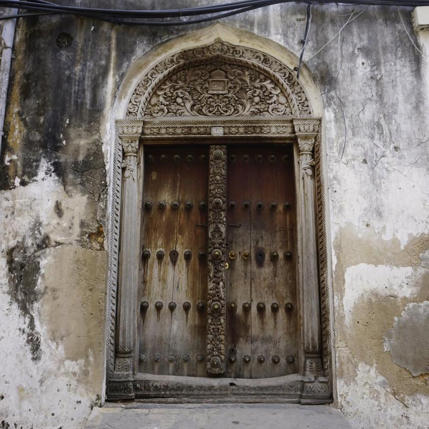 Door of Stone Town, Zanzibar