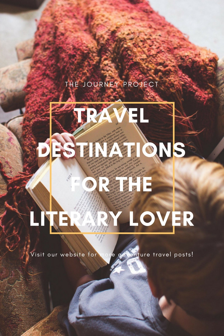 Travel Destinations For the Literary Lover | Do you dream of going to all the places read about in your favorite books? Most of them will only exist in your imagination, but a small few can be visited now!
