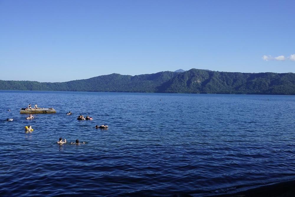 Laguna de Apoyo crater lake in Nicaragua