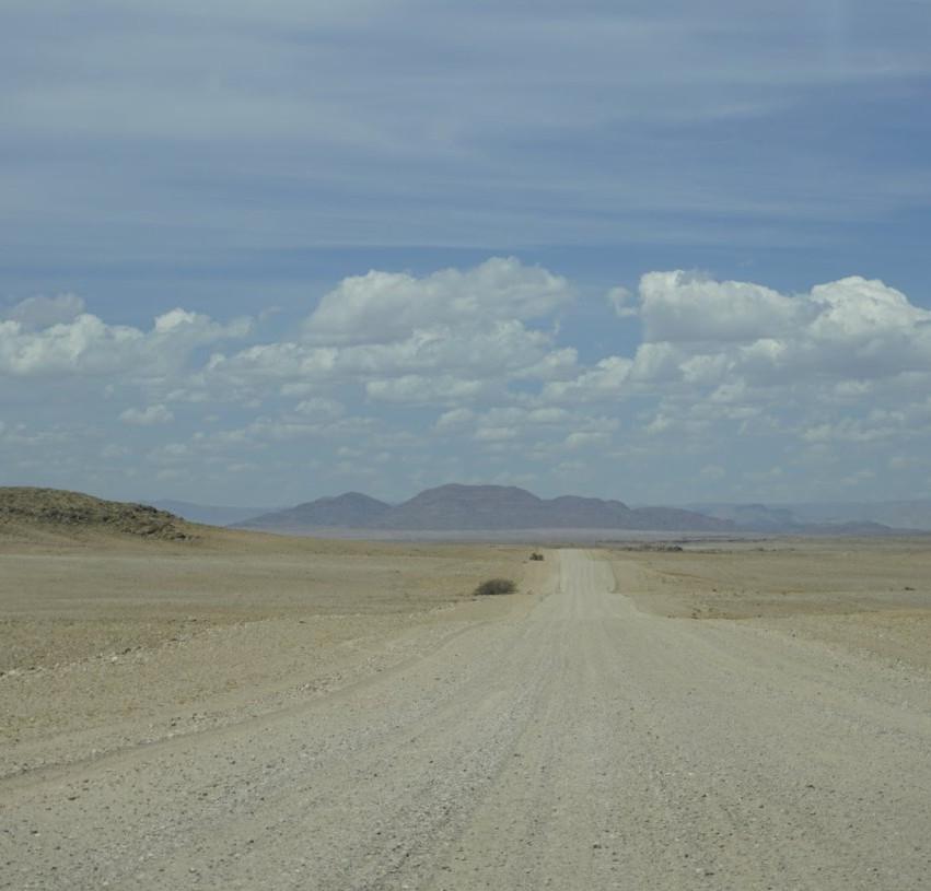 Namibian Desert Road