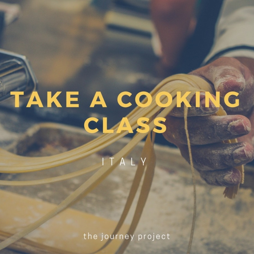Take a Cooking Class in Italy