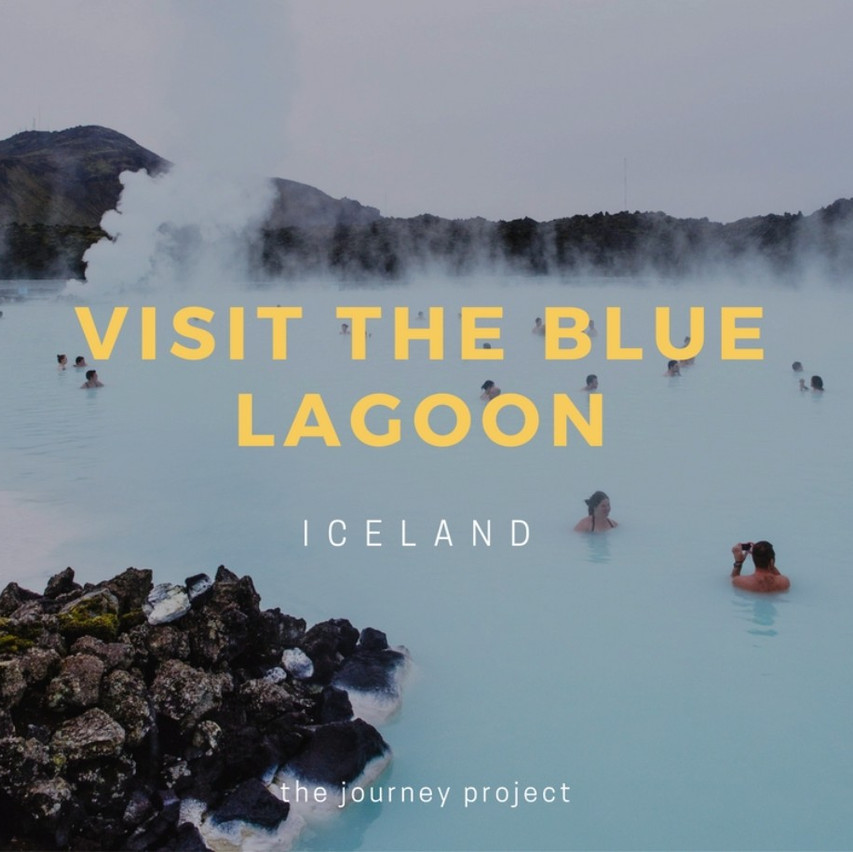 Visit the Blue Lagoon in Iceland