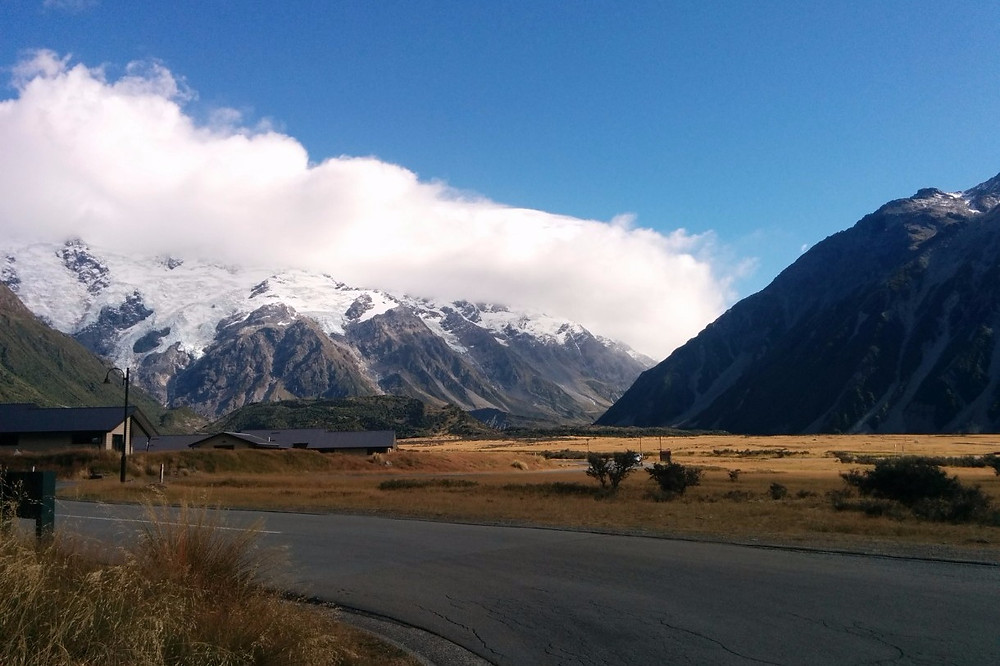 Mountains viewed from Mount Cook Village
