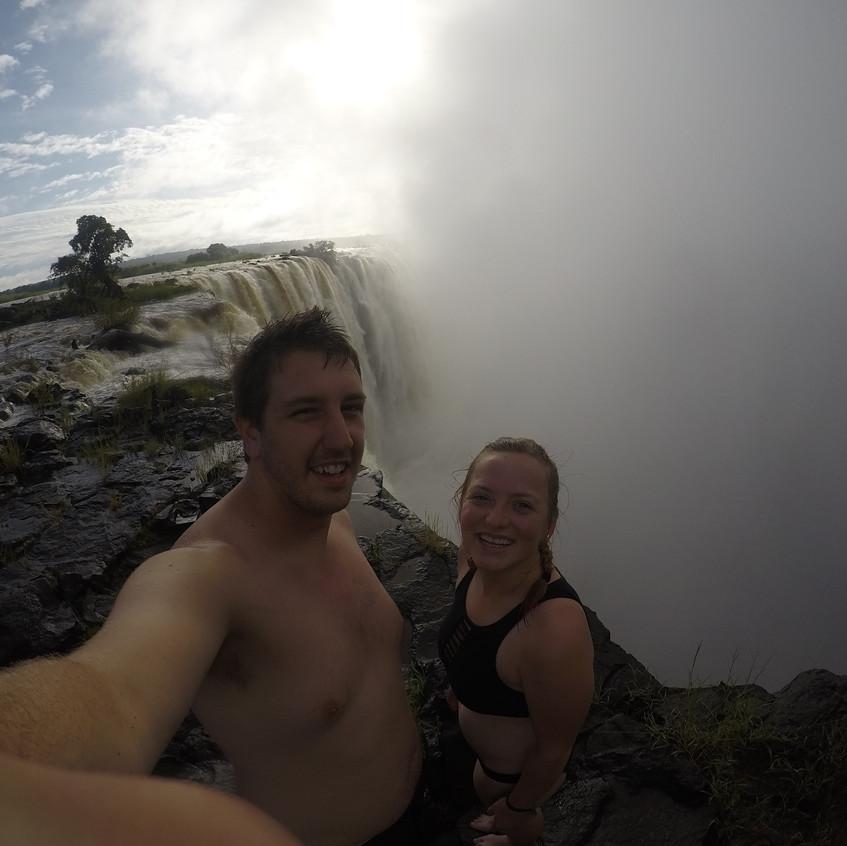 Livingstone Island Angel's Pool, Zambia