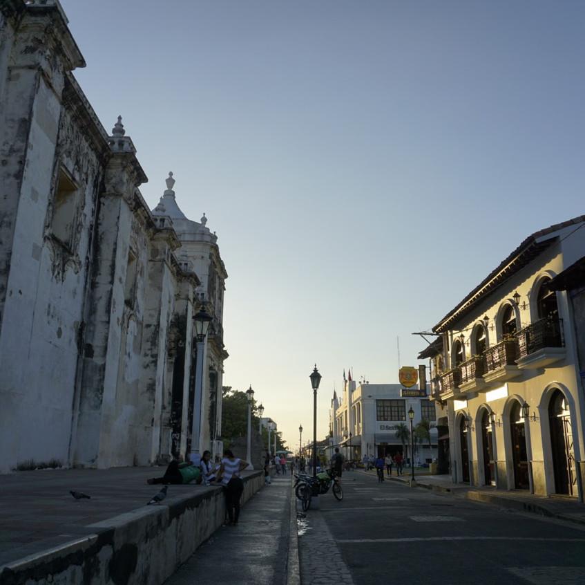 Street of Leon, Nicaragua