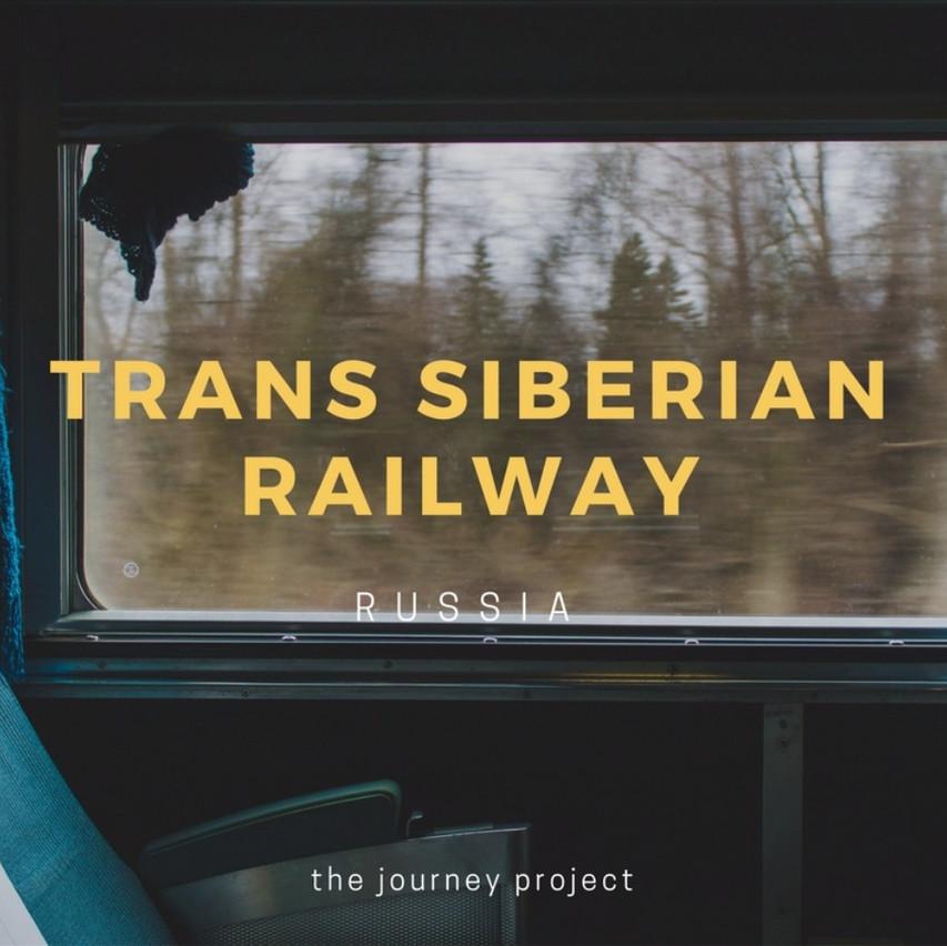 Take the Trans Siberian Railway