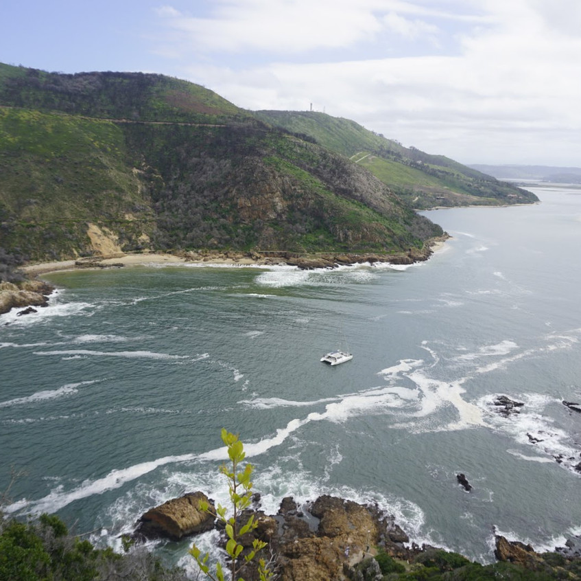Two Heads at Knysna, South Africa