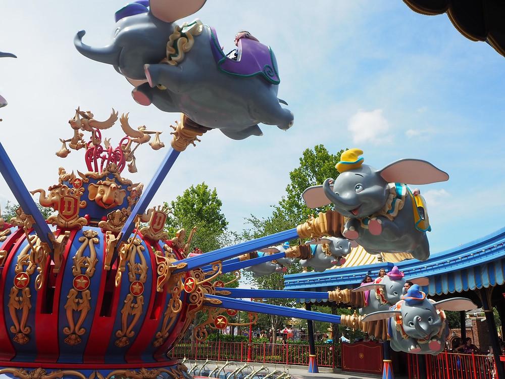Dumbo Flying Elephant Magic Kingdom Disney World