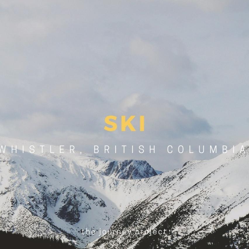 Ski in the Canadian Rockies