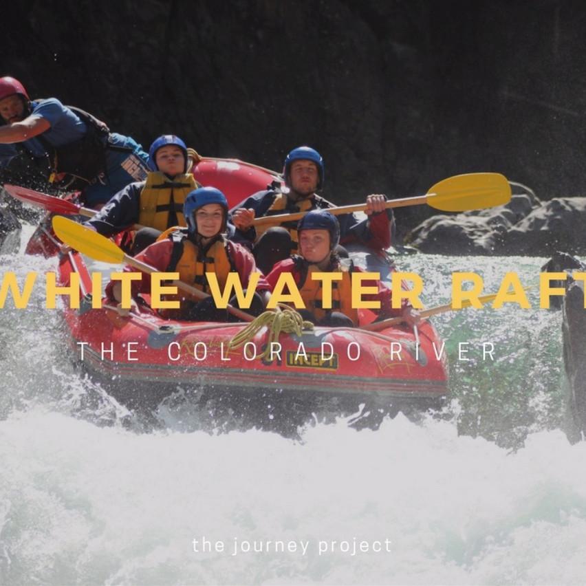 White Water Raft the Colorado River