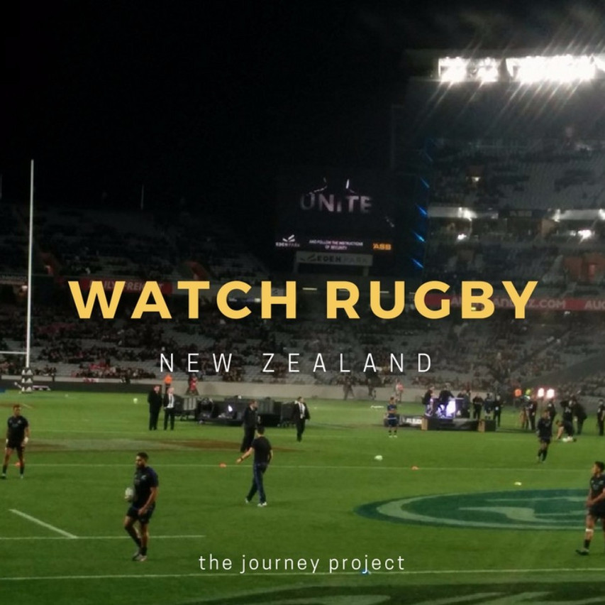 Watch Rugby in New Zealand