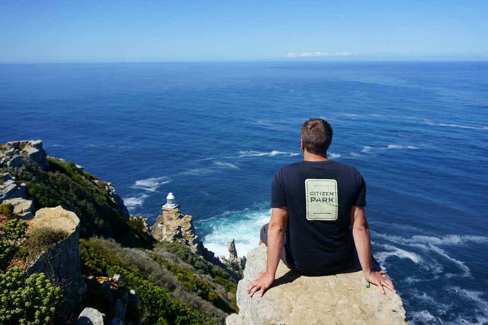 Lucas at Cape Point, South Africa