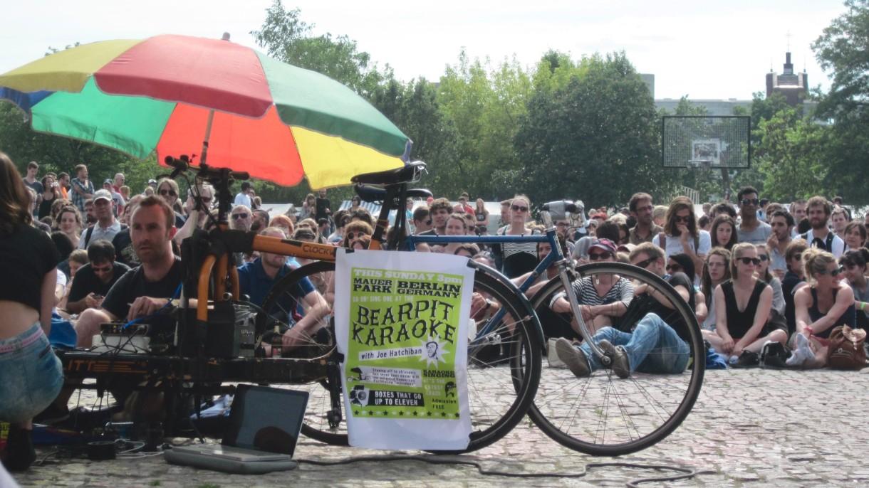 Bearpit Karaoke Bike