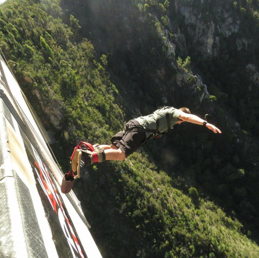 Bloukrans Bridge Bungy South Africa