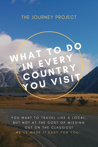 What To Do In Every Country You Visit | You want to travel like a local, but not at the cost of missing out on the classics! We've made it easy for you with this list of things to do in every country!