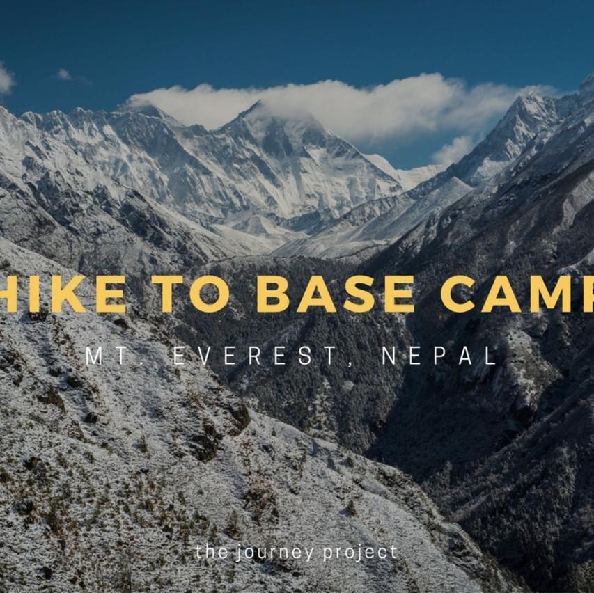 Hike to Everest Base Camp